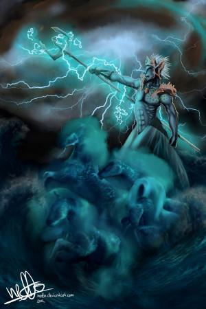 Poseidon Neptune Greek God...