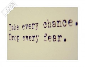 Quotes About Taking Chances and Love