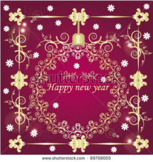 Christmas New Year Greetings Business