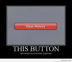 This button saved more lives than superman..... :D
