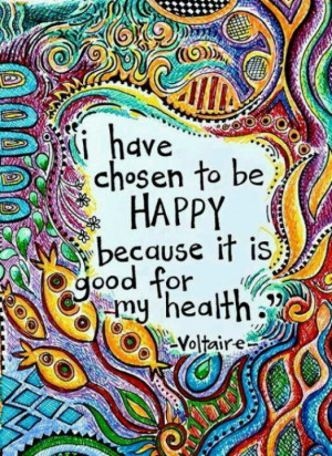 Happiness is a choice. Another good quote worthy of a blog.... http ...