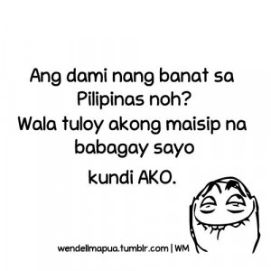 Banat Quotes Tagalog Words Banats