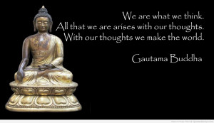 We are what we think. All that we are arises with our thoughts. With ...