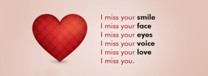 lovely i miss you facebook timeline cover quotic i miss you facebook ...