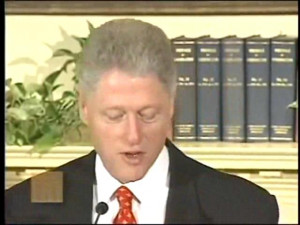 ... to the Lewinsky Allegations (January 26, 1998) Bill Clinton.ogv