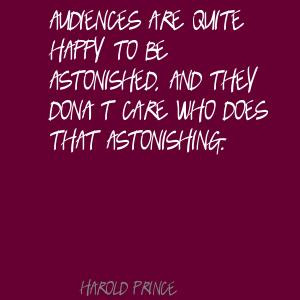 Harold Prince's quote #2