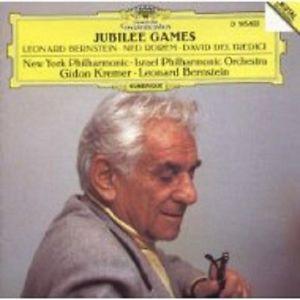 Jubilee Games Leonard Bernstein Ned Rorem David Del Tredici NEW CD