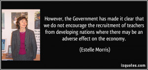 More Estelle Morris Quotes