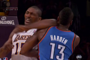 Metta World Peace Fed His James Harden Obsession By Gently Rubbing His ...