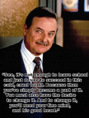Mr. Feeny gave really great advice. | 19 Reasons Why Cory And Mr ...