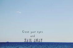 Sail away #sailaway #sail #sailing #quote #inspiration More