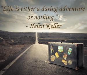 Helen Keller travel quotes