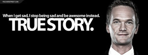 stop being sad and start being awesome