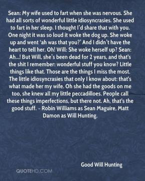 Good Will Hunting Quotes   Quote...
