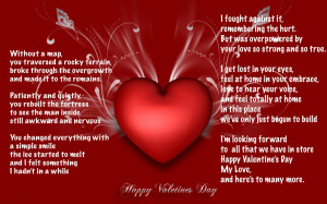 You Are The Love Of My Life Poem Hd Valentine Day Quotesjpg Wallpaper ...
