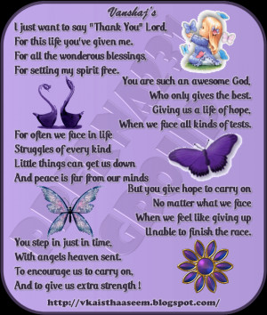 Thank You God Quotes And
