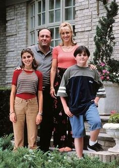 ... TONY SOPRANO and family - See best of PHOTOS of THE SOPRANOS character