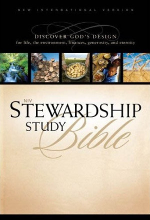 NIV Stewardship Study Bible Notes, bible, bible study, gospel, bible ...