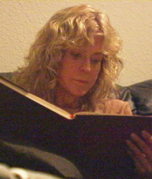 Actress Farrah Fawcett is shown reading in this publicity photo from ...