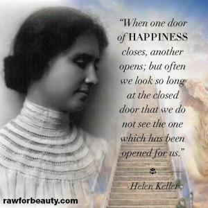 Open the door to happiness