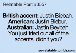 LOL funny justin bieber quotes British teen quotes funny quotes ...