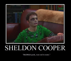 The Big Bang Theory Sheldon Cooper :]