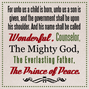 bible christmas verses