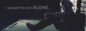 Alone/Sad Facebook Cover Photos