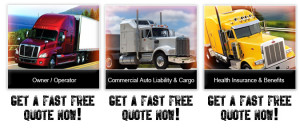 Trucking Quotes Variety of truck insurance