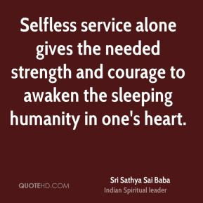 Selfless Service Quotes. QuotesGram