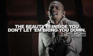 Man quotes and chris brown sayings life beautiful