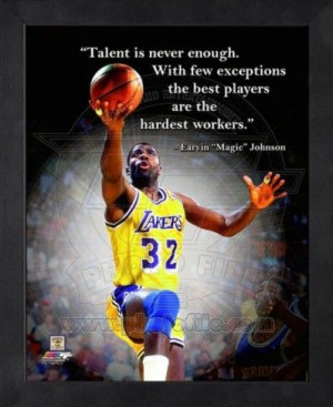Magic Johnson quote.