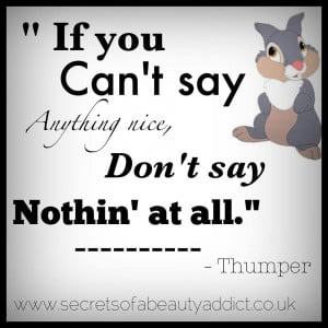 Thumper Quotes Sayings