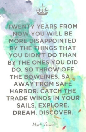 Set Sail from the Safe Harbor