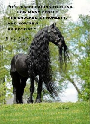 Black beauty Horse quote copy