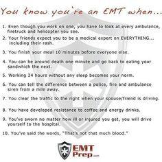 Set of 4 Funny EMS Bumper Stickers (EMT Paramedic Humor, Ambulance ...