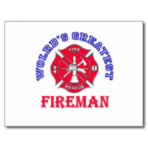 Cute Fireman Sayings Gifts and Gift Ideas
