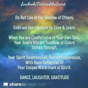 YOUR SOUL'S VIBRANT RAINBOW OF COLORS....