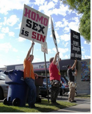 ... Filed $70M Lawsuit Against Bible Publishers Over 'Homosexual' Verses