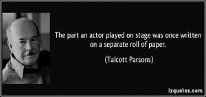 More Talcott Parsons Quotes