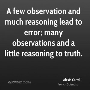Observation Quotes and Sayings