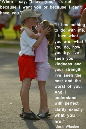 When I Say I Love You Quote