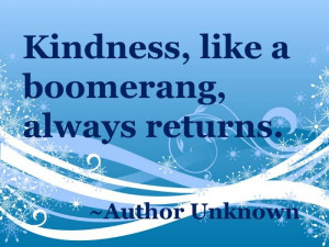It's Random Acts of Kindness week!