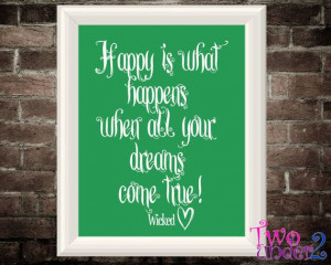 8x10 Inspirational Broadway Quote Print -