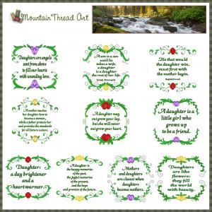 daughter quotes n quilt blocks set daughter quote n quilt blocks set ...