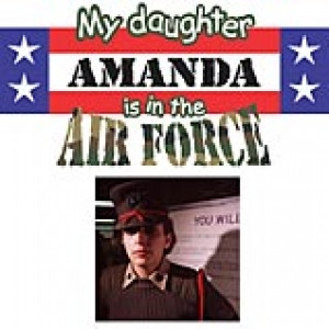 My Daughter Air Force Photo T Shirt