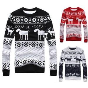 christmas jumper pattern reindeer