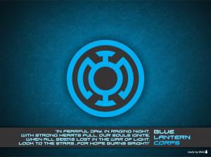 Blue Lantern Corps Xionice