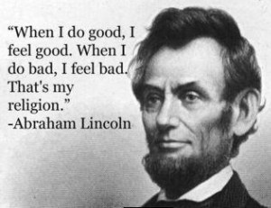 Since it is President's Day, I will leave you with this quote I saw ...