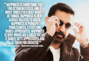 Kamal Haasan Inspirational Bollywood Picture Quote For Success